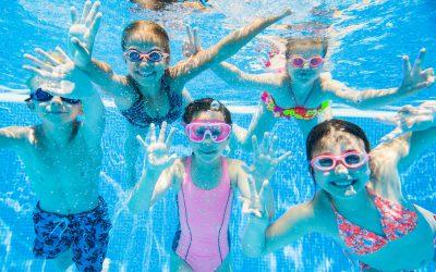Schwimmen können…