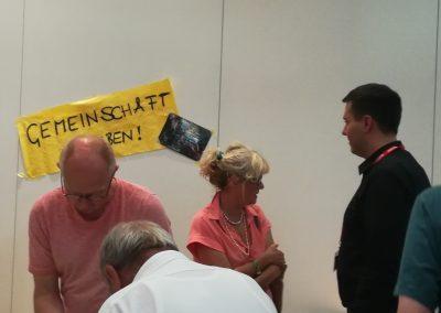 """Am Workshop """"Gemeinschaft erleben!"""""""