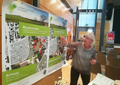 Stand zum Landwirtschaftspark Heidelberg mit Prof. Dr. Lissy Jäkel von der PH Heidelberg