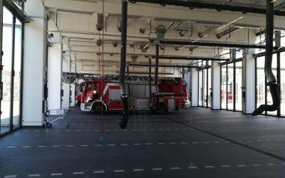 SPD-Fraktion lernt neues Sirenensystem der Stadt Mannheim kennen.