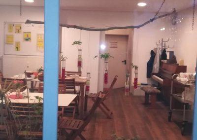 Einer der Gemeinschaftsräume im Mehrgenerationenhaus.