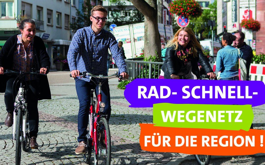 Radschnellwegenetz für die Region