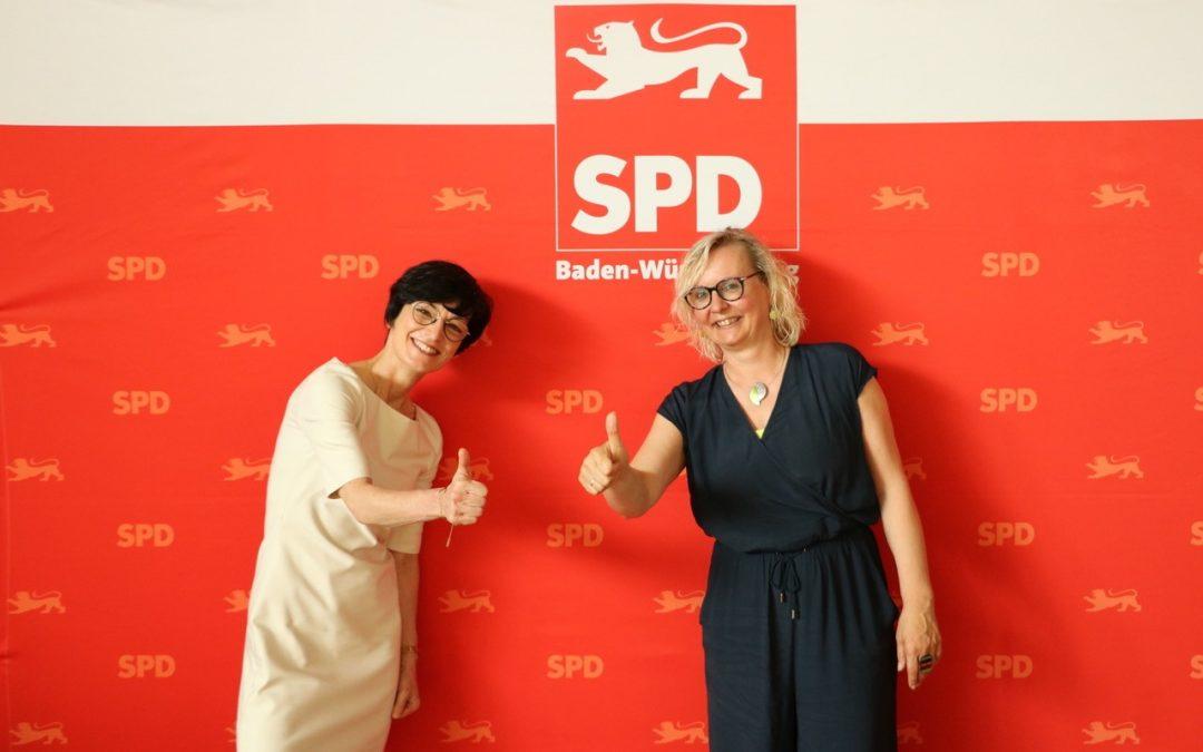 Gratulation an Stefanie Jansen zur Nominierung als künftige Dezernentin für Soziales, Bildung, Familie und Chancengleichheit